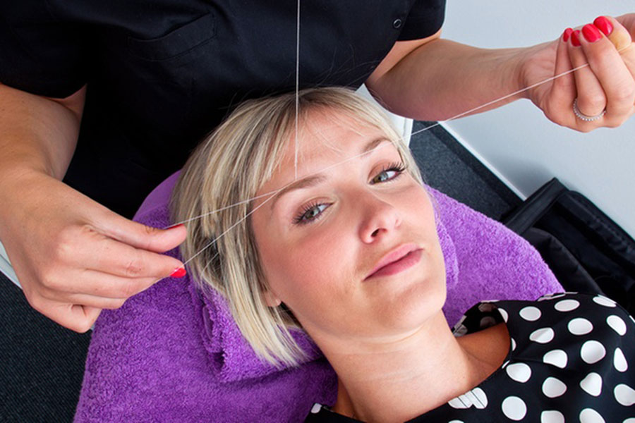 Luxe Beauty Salon All About Eyebrow Threading
